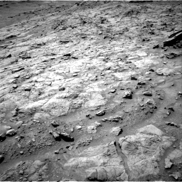Nasa's Mars rover Curiosity acquired this image using its Right Navigation Camera on Sol 1353, at drive 2192, site number 54