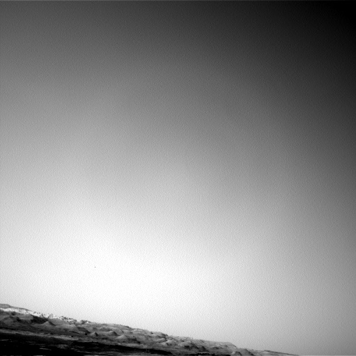 Nasa's Mars rover Curiosity acquired this image using its Left Navigation Camera on Sol 1354, at drive 2202, site number 54