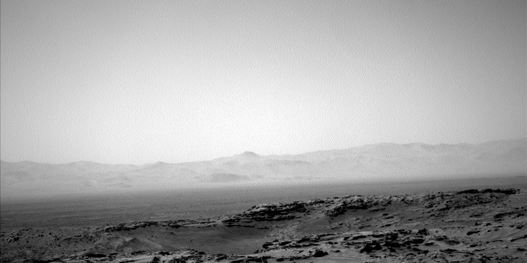Nasa's Mars rover Curiosity acquired this image using its Left Navigation Camera on Sol 1355, at drive 2202, site number 54