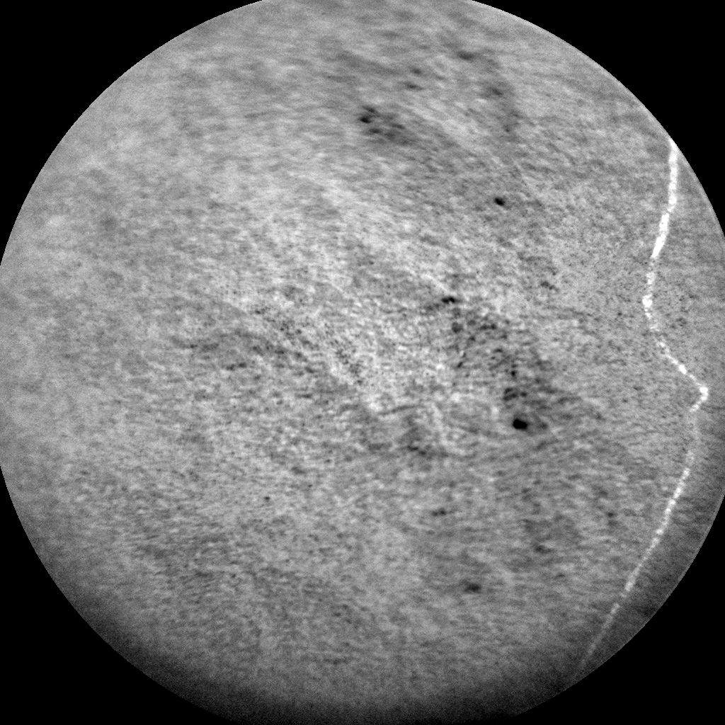 Nasa's Mars rover Curiosity acquired this image using its Chemistry & Camera (ChemCam) on Sol 1355, at drive 2202, site number 54