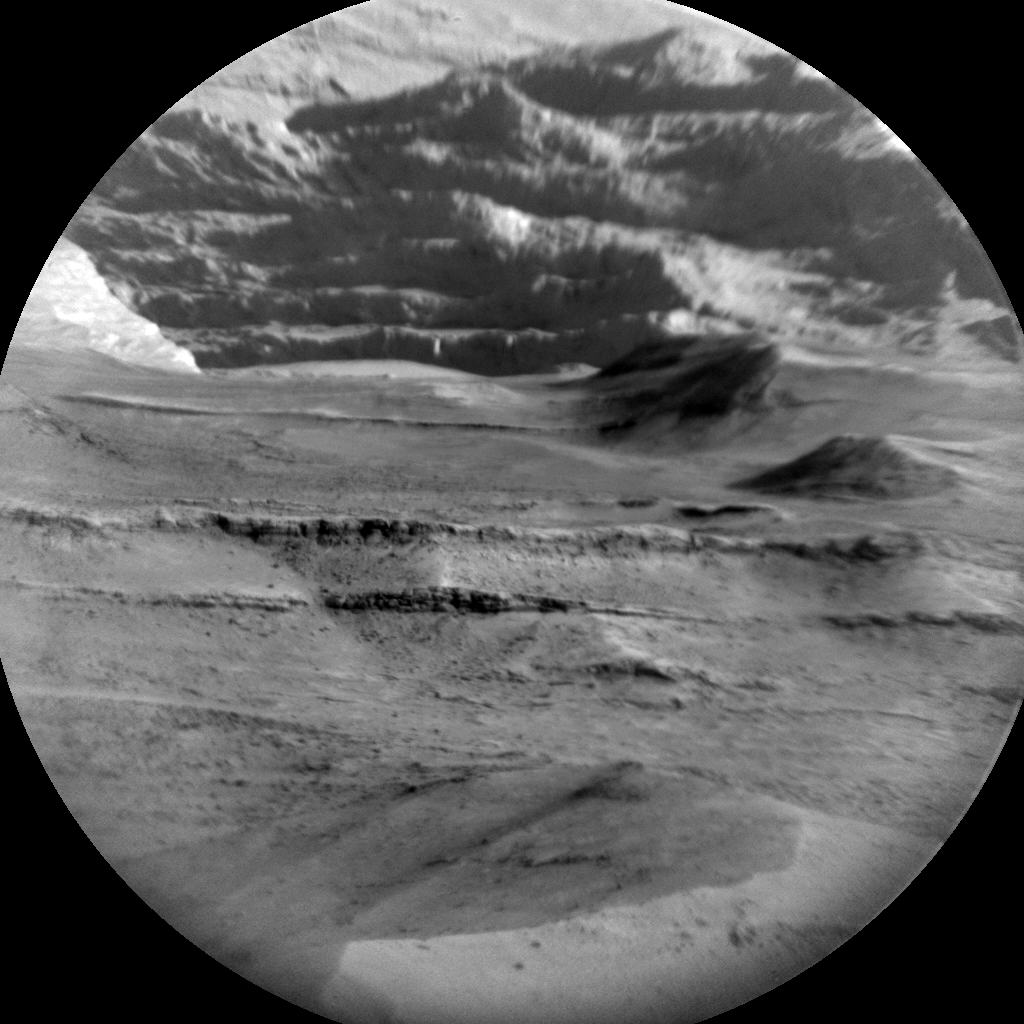 Nasa's Mars rover Curiosity acquired this image using its Chemistry & Camera (ChemCam) on Sol 1356, at drive 2202, site number 54
