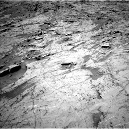 Nasa's Mars rover Curiosity acquired this image using its Left Navigation Camera on Sol 1357, at drive 2244, site number 54