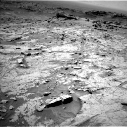 Nasa's Mars rover Curiosity acquired this image using its Left Navigation Camera on Sol 1357, at drive 2268, site number 54