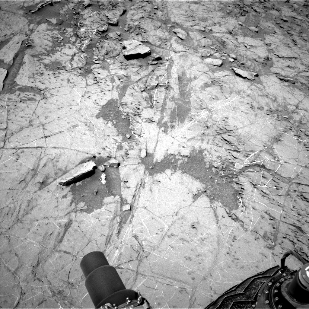 Nasa's Mars rover Curiosity acquired this image using its Left Navigation Camera on Sol 1357, at drive 2280, site number 54