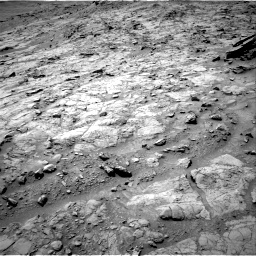 Nasa's Mars rover Curiosity acquired this image using its Right Navigation Camera on Sol 1357, at drive 2208, site number 54