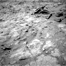 Nasa's Mars rover Curiosity acquired this image using its Right Navigation Camera on Sol 1357, at drive 2214, site number 54
