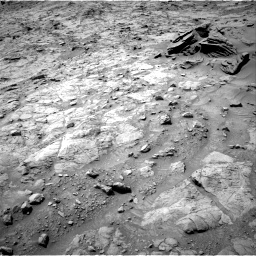 Nasa's Mars rover Curiosity acquired this image using its Right Navigation Camera on Sol 1357, at drive 2220, site number 54