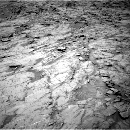 Nasa's Mars rover Curiosity acquired this image using its Right Navigation Camera on Sol 1357, at drive 2238, site number 54