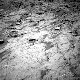 Nasa's Mars rover Curiosity acquired this image using its Right Navigation Camera on Sol 1357, at drive 2244, site number 54
