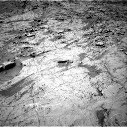 Nasa's Mars rover Curiosity acquired this image using its Right Navigation Camera on Sol 1357, at drive 2250, site number 54