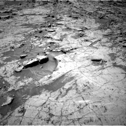 Nasa's Mars rover Curiosity acquired this image using its Right Navigation Camera on Sol 1357, at drive 2256, site number 54