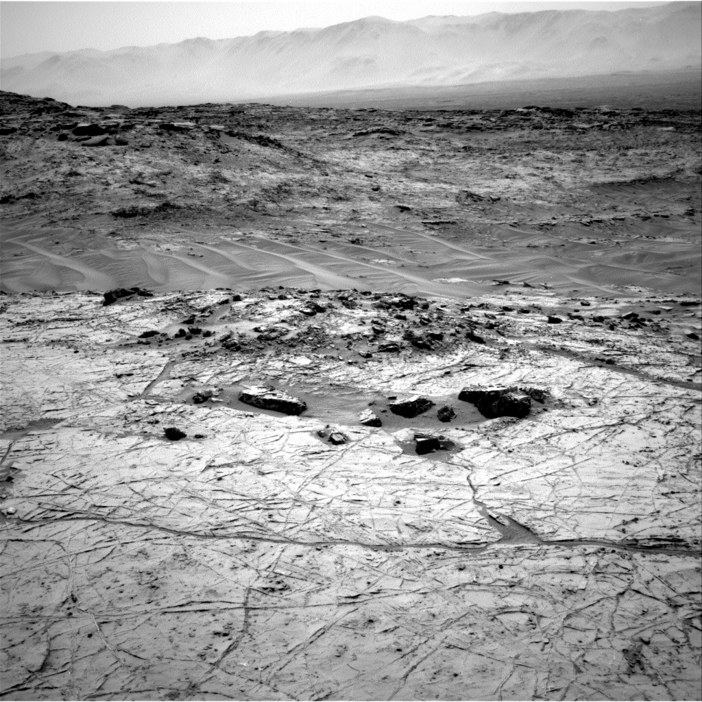 Nasa's Mars rover Curiosity acquired this image using its Right Navigation Camera on Sol 1357, at drive 2262, site number 54