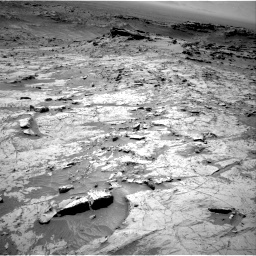 Nasa's Mars rover Curiosity acquired this image using its Right Navigation Camera on Sol 1357, at drive 2268, site number 54