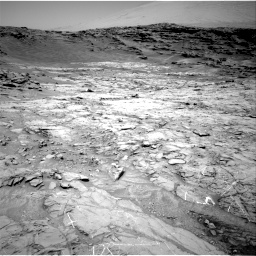 Nasa's Mars rover Curiosity acquired this image using its Right Navigation Camera on Sol 1357, at drive 2280, site number 54