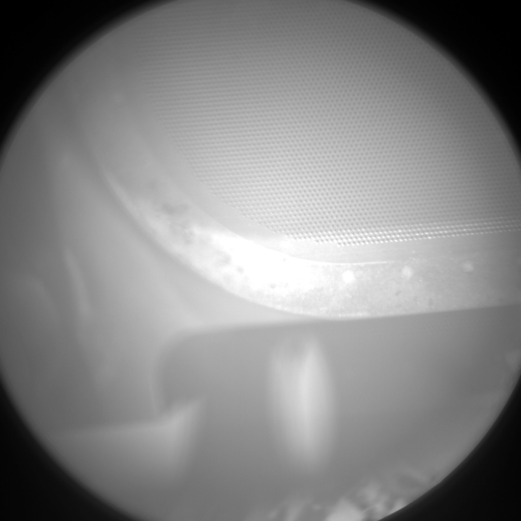 Nasa's Mars rover Curiosity acquired this image using its Chemistry & Camera (ChemCam) on Sol 1359, at drive 2280, site number 54