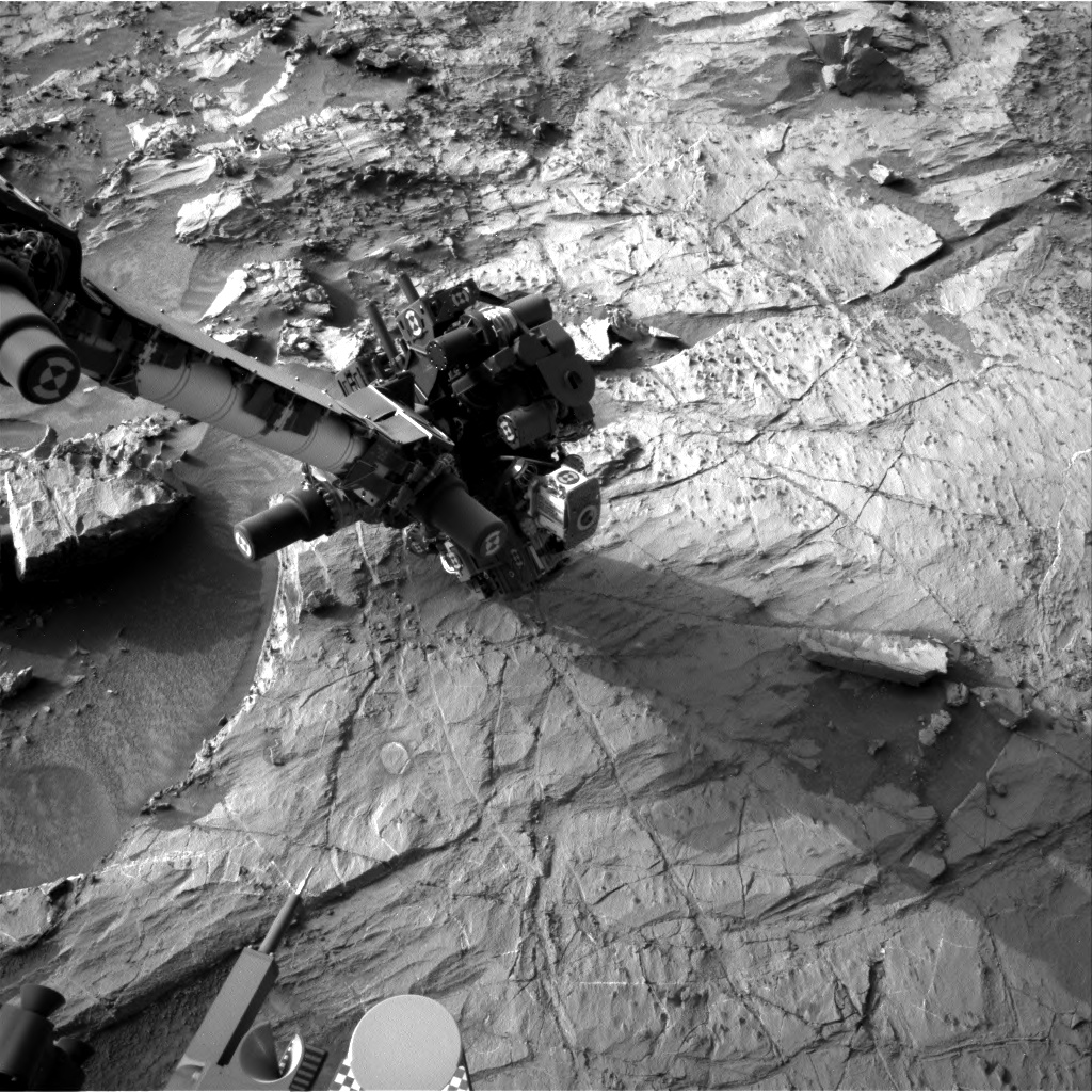 Nasa's Mars rover Curiosity acquired this image using its Right Navigation Camera on Sol 1359, at drive 2280, site number 54