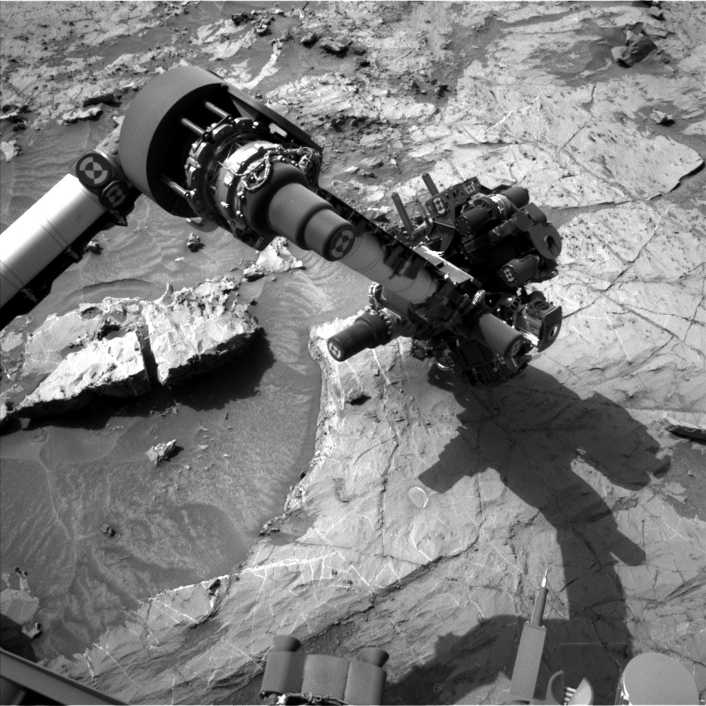 Nasa's Mars rover Curiosity acquired this image using its Left Navigation Camera on Sol 1360, at drive 2280, site number 54