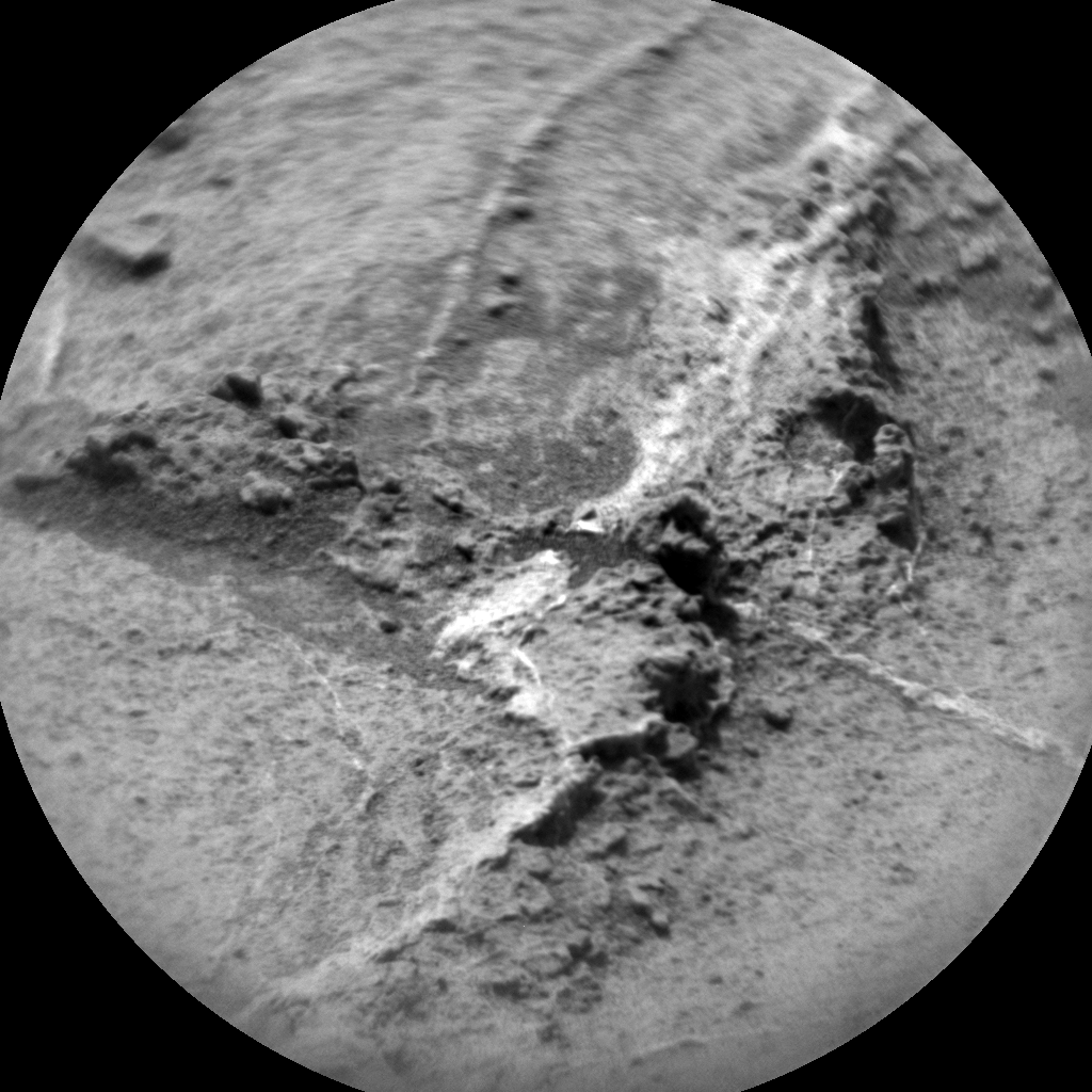 Nasa's Mars rover Curiosity acquired this image using its Chemistry & Camera (ChemCam) on Sol 1360, at drive 2280, site number 54