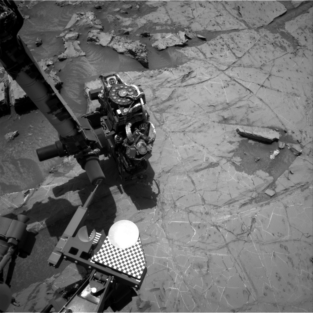Nasa's Mars rover Curiosity acquired this image using its Right Navigation Camera on Sol 1361, at drive 2280, site number 54