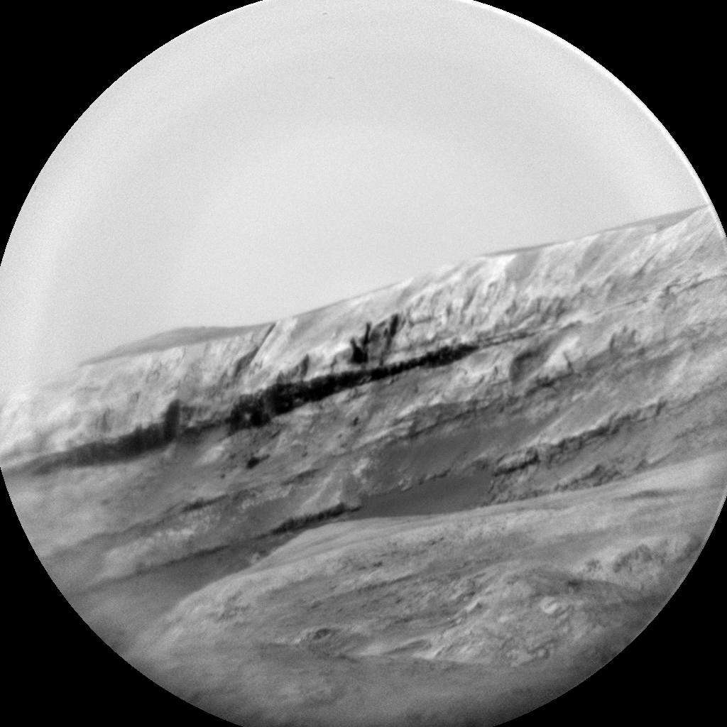 Nasa's Mars rover Curiosity acquired this image using its Chemistry & Camera (ChemCam) on Sol 1361, at drive 2280, site number 54