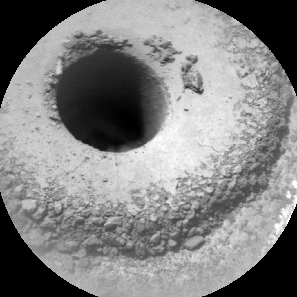Nasa's Mars rover Curiosity acquired this image using its Chemistry & Camera (ChemCam) on Sol 1362, at drive 2280, site number 54