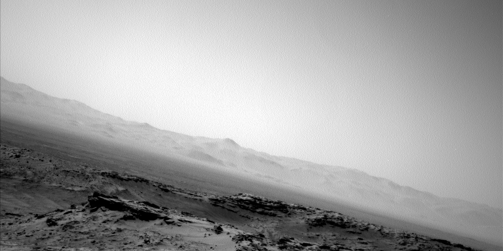 Nasa's Mars rover Curiosity acquired this image using its Left Navigation Camera on Sol 1363, at drive 2280, site number 54