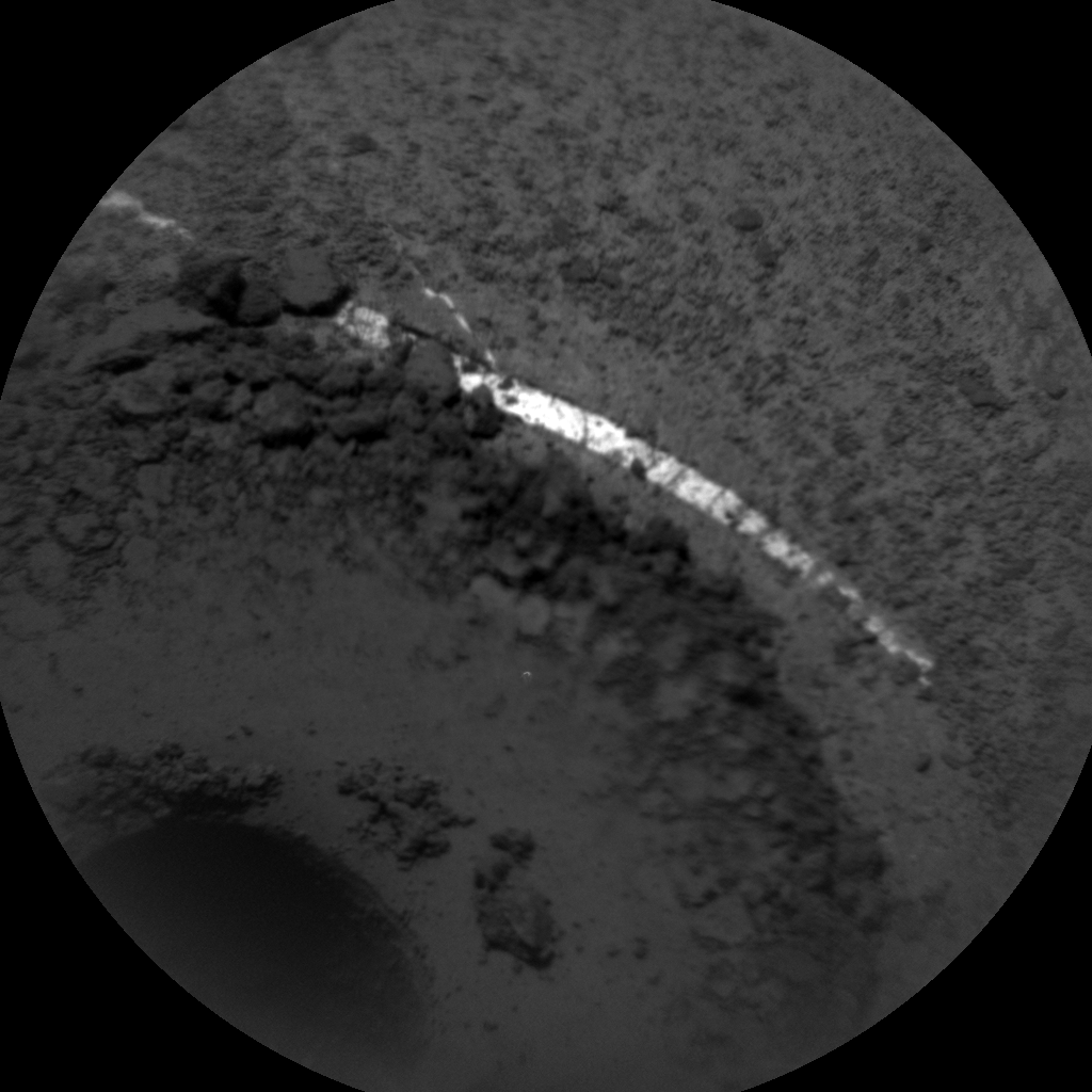 Nasa's Mars rover Curiosity acquired this image using its Chemistry & Camera (ChemCam) on Sol 1364, at drive 2280, site number 54