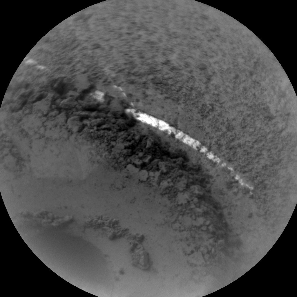 Nasa's Mars rover Curiosity acquired this image using its Chemistry & Camera (ChemCam) on Sol 1365, at drive 2280, site number 54