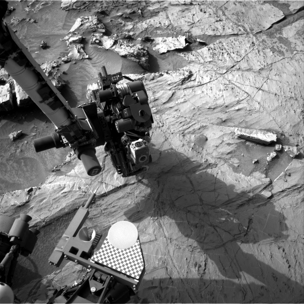 Nasa's Mars rover Curiosity acquired this image using its Right Navigation Camera on Sol 1366, at drive 2280, site number 54