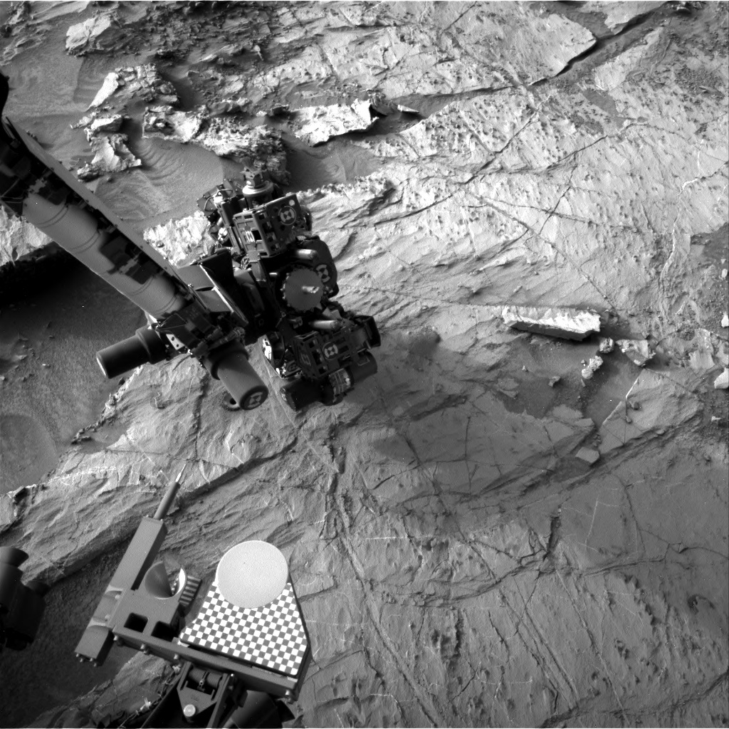 NASA's Mars rover Curiosity acquired this image using its Right Navigation Cameras (Navcams) on Sol 1366