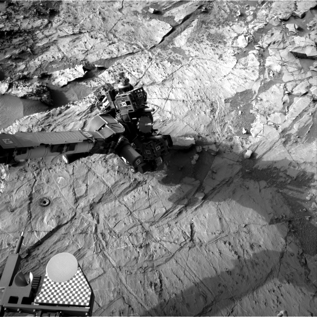 Nasa's Mars rover Curiosity acquired this image using its Right Navigation Camera on Sol 1368, at drive 2280, site number 54
