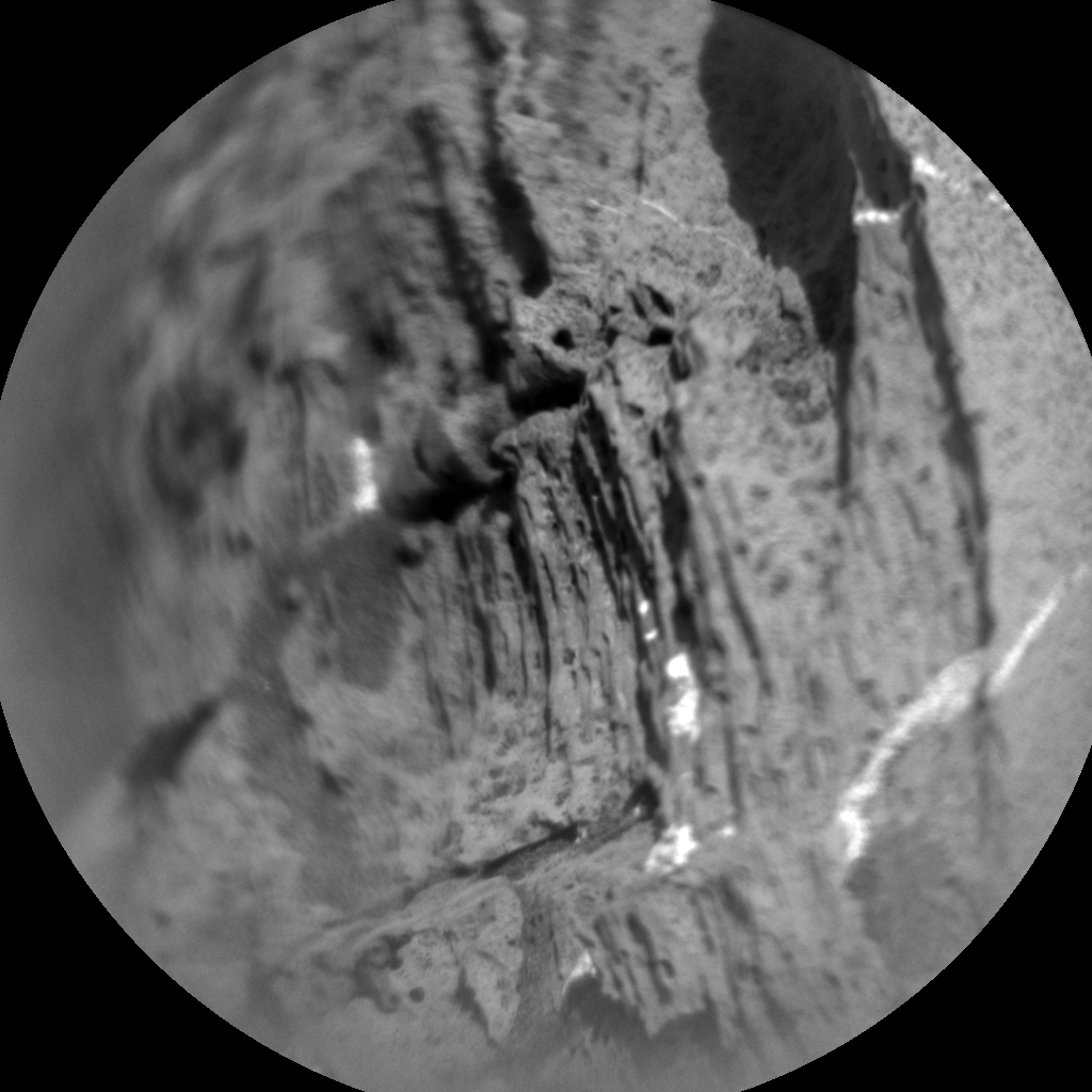 Nasa's Mars rover Curiosity acquired this image using its Chemistry & Camera (ChemCam) on Sol 1368, at drive 2280, site number 54