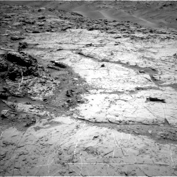 Nasa's Mars rover Curiosity acquired this image using its Left Navigation Camera on Sol 1369, at drive 2382, site number 54