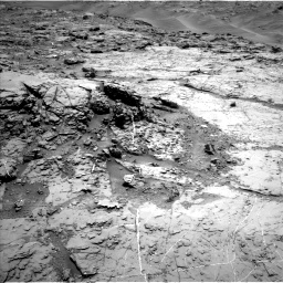 Nasa's Mars rover Curiosity acquired this image using its Left Navigation Camera on Sol 1369, at drive 2388, site number 54