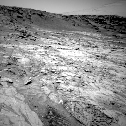 Nasa's Mars rover Curiosity acquired this image using its Right Navigation Camera on Sol 1369, at drive 2286, site number 54