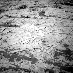 Nasa's Mars rover Curiosity acquired this image using its Right Navigation Camera on Sol 1369, at drive 2304, site number 54
