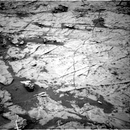 Nasa's Mars rover Curiosity acquired this image using its Right Navigation Camera on Sol 1369, at drive 2310, site number 54