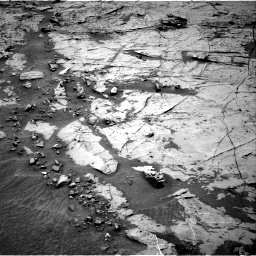 Nasa's Mars rover Curiosity acquired this image using its Right Navigation Camera on Sol 1369, at drive 2316, site number 54