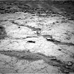 Nasa's Mars rover Curiosity acquired this image using its Right Navigation Camera on Sol 1369, at drive 2376, site number 54