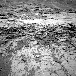 Nasa's Mars rover Curiosity acquired this image using its Right Navigation Camera on Sol 1369, at drive 2406, site number 54