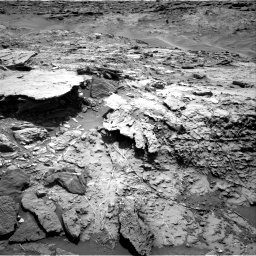 Nasa's Mars rover Curiosity acquired this image using its Right Navigation Camera on Sol 1369, at drive 2424, site number 54