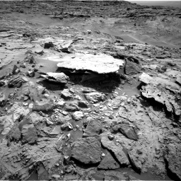 Nasa's Mars rover Curiosity acquired this image using its Right Navigation Camera on Sol 1369, at drive 2430, site number 54
