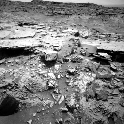 Nasa's Mars rover Curiosity acquired this image using its Right Navigation Camera on Sol 1369, at drive 2436, site number 54