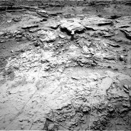 Nasa's Mars rover Curiosity acquired this image using its Right Navigation Camera on Sol 1369, at drive 2472, site number 54