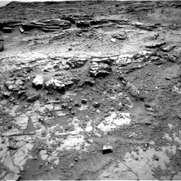 Nasa's Mars rover Curiosity acquired this image using its Right Navigation Camera on Sol 1369, at drive 2490, site number 54