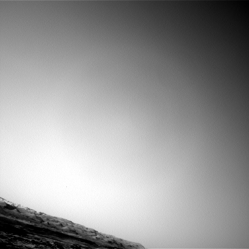 Nasa's Mars rover Curiosity acquired this image using its Left Navigation Camera on Sol 1371, at drive 2508, site number 54
