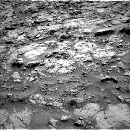 Nasa's Mars rover Curiosity acquired this image using its Left Navigation Camera on Sol 1371, at drive 2628, site number 54