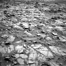 Nasa's Mars rover Curiosity acquired this image using its Left Navigation Camera on Sol 1371, at drive 2652, site number 54