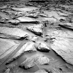 Nasa's Mars rover Curiosity acquired this image using its Left Navigation Camera on Sol 1371, at drive 2712, site number 54