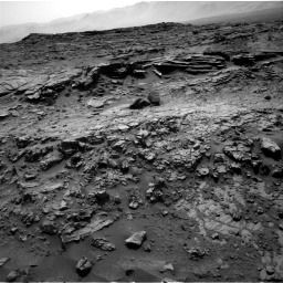 Nasa's Mars rover Curiosity acquired this image using its Right Navigation Camera on Sol 1371, at drive 2508, site number 54